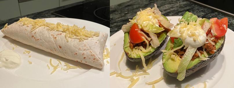 Koken met Maeve burrito